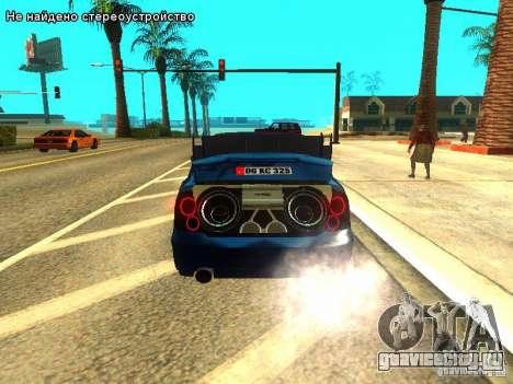 Hyundai Accent Era для GTA San Andreas вид сбоку