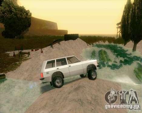 Off-Road Track для GTA San Andreas четвёртый скриншот