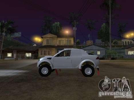 Mitsubishi L200 Triton для GTA San Andreas вид слева