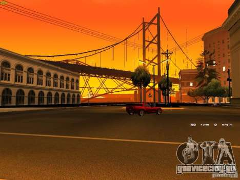 Chevrolet Corvette Z06 для GTA San Andreas