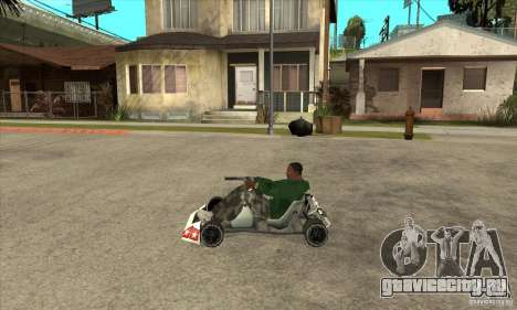 Stage 6 Kart Beta v1.0 для GTA San Andreas вид слева