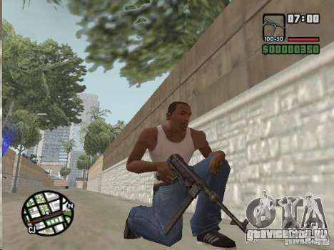 Mafia II Full Weapons Pack для GTA San Andreas третий скриншот