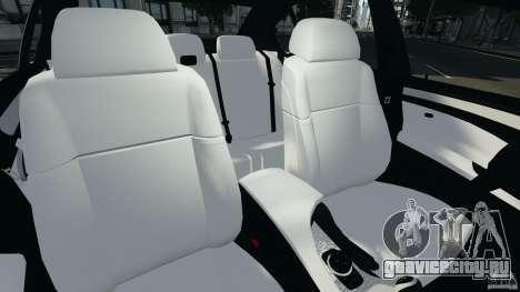 BMW M5 E60 2009 v2.0 для GTA 4 вид изнутри