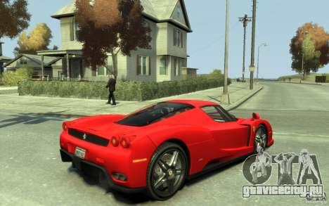 Ferrari Enzo [EPM] v1 для GTA 4 вид справа