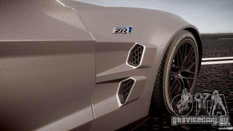 Chevrolet Corvette ZR1 2009 v1.2 для GTA 4 салон