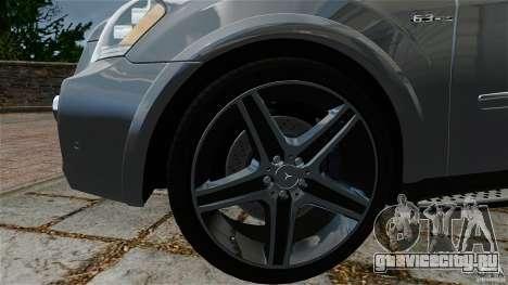 Mercedes-Benz ML63 AMG для GTA 4 вид справа