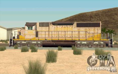 Clinchfield SD40 (Yellow & Grey) для GTA San Andreas