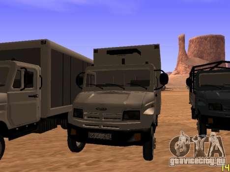 ЗиЛ 5301 Бычок для GTA San Andreas вид сзади слева