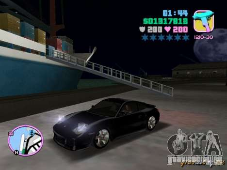 Porsche 911 Twin Turbo для GTA Vice City