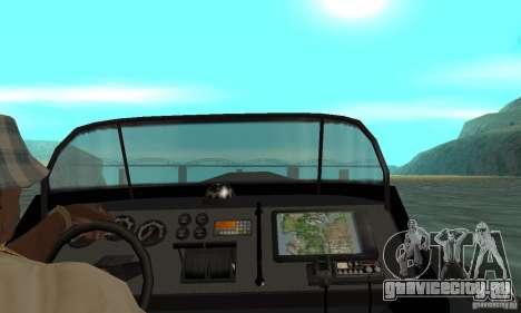 GTAIV Dinghy для GTA San Andreas вид сзади