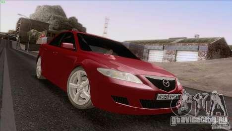 Mazda 6 2006 для GTA San Andreas вид сбоку
