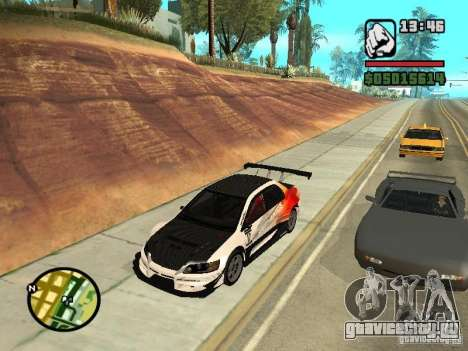 Mitsubishi Lancer Evo IX SpeedHunters Edition для GTA San Andreas вид справа