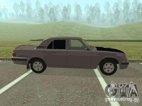 ГАЗ Волга 31105 рестайлинг для GTA San Andreas вид слева