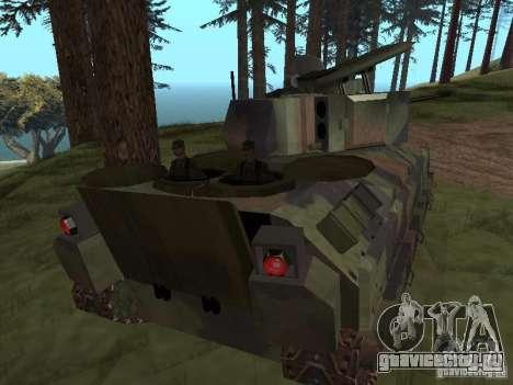 M2A3 Bradley для GTA San Andreas вид справа