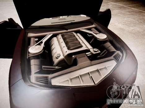 Chevrolet Camaro SS 2010 для GTA 4 вид изнутри