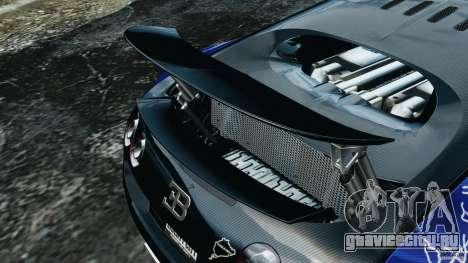 Bugatti Veyron 16.4 Super Sport 2011 v1.0 [EPM] для GTA 4 салон