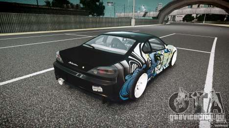 Nissan Silvia S15 Drift v1.1 для GTA 4 вид сверху