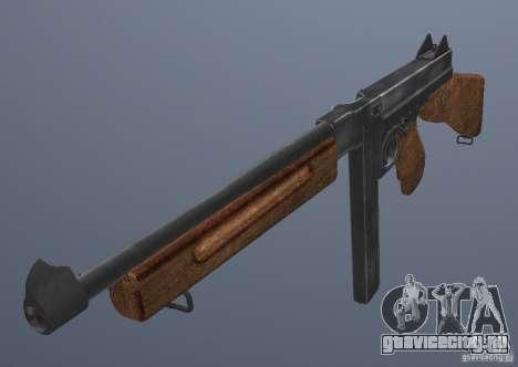 M1 Thompson для GTA San Andreas второй скриншот