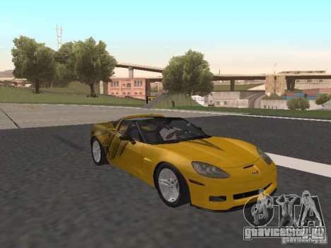Chevrolet Corvette Z06 для GTA San Andreas вид сбоку
