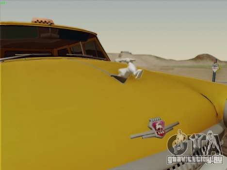 ГАЗ 22 для GTA San Andreas вид изнутри