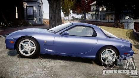 Mazda RX-7 1997 v1.0 [EPM] для GTA 4 вид изнутри