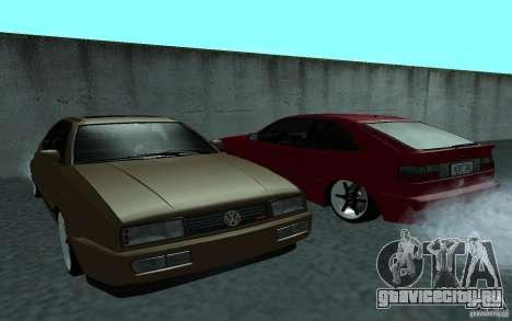 Volkswagen Corrado для GTA San Andreas вид справа
