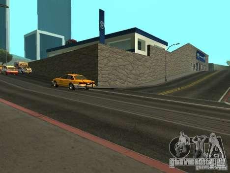 Автосалон Ford для GTA San Andreas третий скриншот