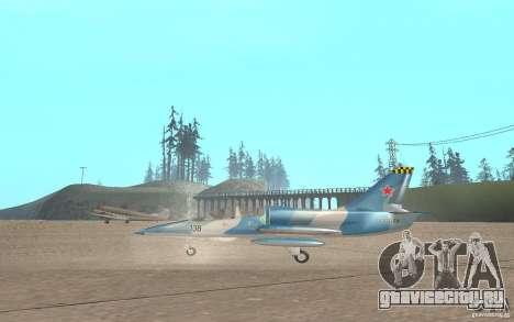 L-39 Albatross для GTA San Andreas вид сзади слева