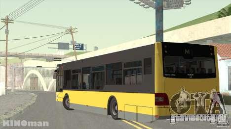MAN Lion City для GTA San Andreas вид слева