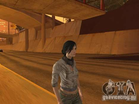FaryCry 3 Liza Snow для GTA San Andreas второй скриншот
