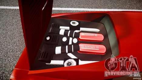 Ferrari 288 GTO для GTA 4 вид снизу