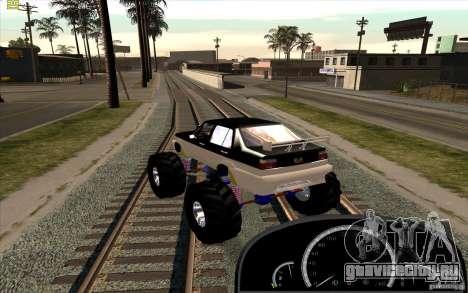 Jetta Monster Truck для GTA San Andreas вид слева