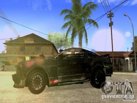 Ford Mustang Death Race для GTA San Andreas вид сзади