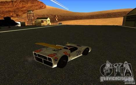 Nissan R381 для GTA San Andreas вид сзади слева