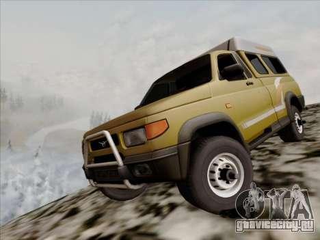 УАЗ 2760 для GTA San Andreas вид сзади