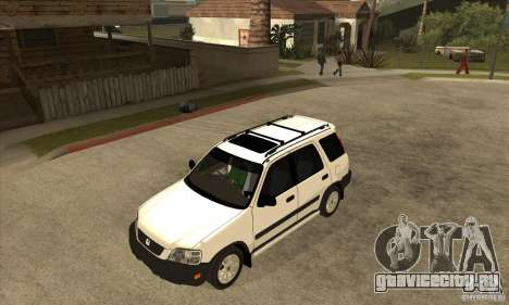 Honda CRV 1997 для GTA San Andreas вид изнутри