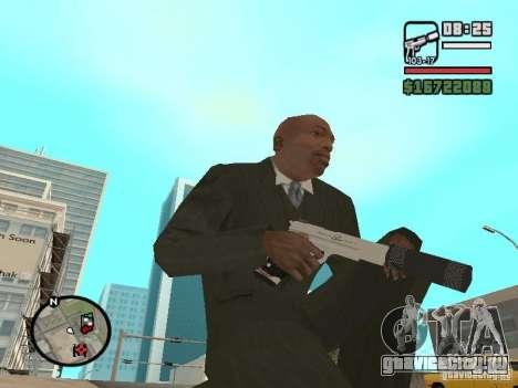 Silverballer с глушителем из Hitman для GTA San Andreas второй скриншот