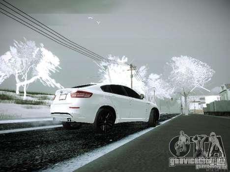 BMW X6M E72 для GTA San Andreas вид слева