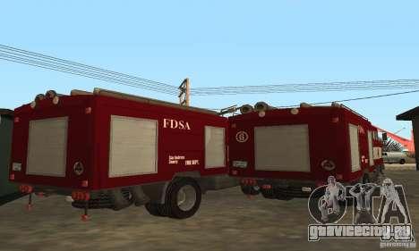 IFA Пожарная для GTA San Andreas вид справа