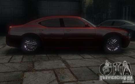Dodge Charger RT Hemi 2008 для GTA 4 вид изнутри