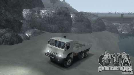 КАМАЗ 4310 для GTA 4 вид слева