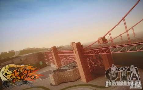 New Golden Gate bridge SF v1.0 для GTA San Andreas шестой скриншот