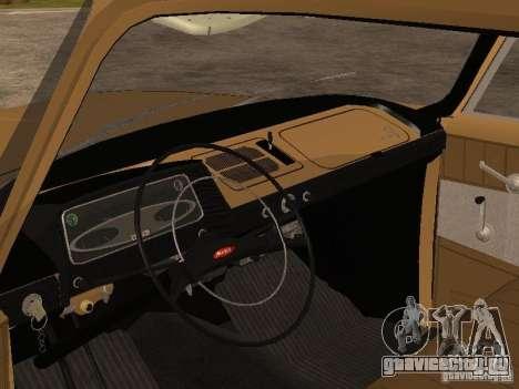 Москвич 408 Элит для GTA San Andreas вид справа