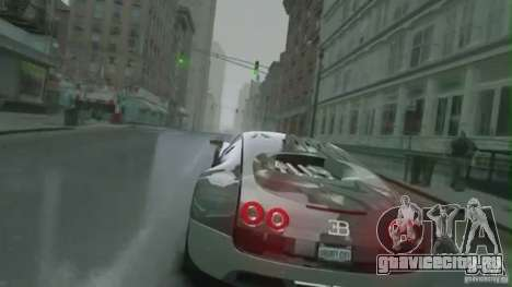 Bugatti Veyron 16.4 Super Sport для GTA 4 вид изнутри