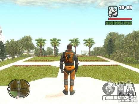 Gordon Freemen для GTA San Andreas второй скриншот
