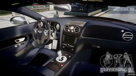 Bentley Continental SS 2010 Le Mansory [EPM] для GTA 4 вид сверху