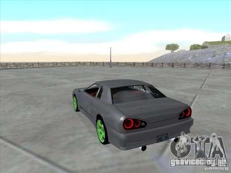 Elegy Full VT v1.2 для GTA San Andreas вид слева
