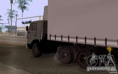 КамАЗ 55111 для GTA San Andreas вид слева