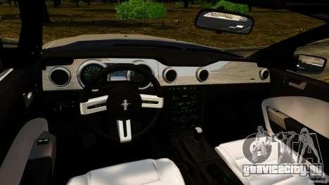 Ford Mustang GT 2005 для GTA 4 вид сзади