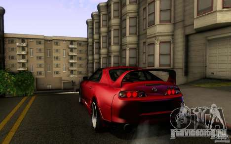 Toyota Supra D1 1998 для GTA San Andreas вид справа